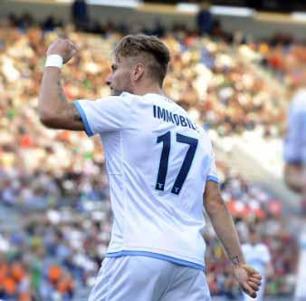 Serie A: biancocelesti vincono in rimonta, Lazio-Sassuolo 2-1