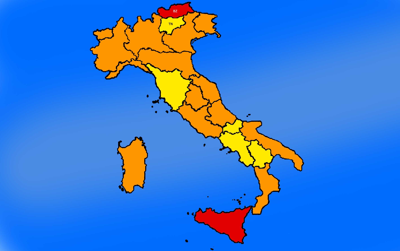Covid: 11.629 contagi e 299 morti, bollettino per regioni 24 gennaio